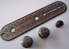 New Control plate & boutons TELECASTER  CUSTOM SHOP pour guitare TELECASTER