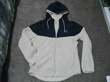 Hollister Guy's Thermal Fleece Hoodie, white / cream, Size S, NEW!!!