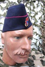 Calot satin d'un jeune Sapeur Pompier Allemand (DFV)(Tour de tête 55 cm)