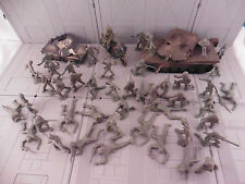 ARMY MEN VEHICLE LOT TANKS AND MOTORCYCLE  military combat soldier plastic toy22