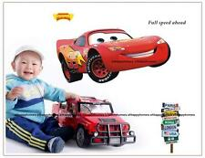 DISNEY CARS LIGHTNING MCQUEEN Wall Stickers Removable Art Decal Kids Nursery