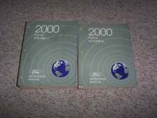 2000 Ford Focus Shop Service Repair Manual Set Sedan ZX3 LX SE ZTS 2.0L