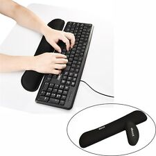 Keyboard Wrist Rest Pad and Mouse Silica Gel Support Ergonomic Computer Use