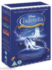 Cinderella: 1, 2 & 3 Box Set | Dreams Come True + Twist in Time | Disney | DVD