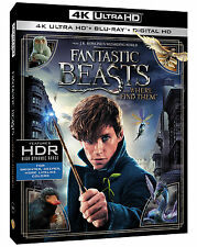 Fantastic Beasts and Where to Find Them 4K UHD Blu-ray w/ Case Preorder