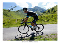 CHRIS FROOME SIGNED PRINT POSTER PHOTO AUTOGRAPH  2016 TOUR DE FRANCE CYCLING