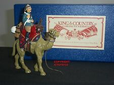 KING AND COUNTRY GLOSS BRITISH CAMEL CORPS MOUNTED METAL TOY SOLDIER FIGURE SET