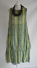 FAB SARAH SANTOS  cotton STRIPE pocket parachute dress size XXL/XXXL