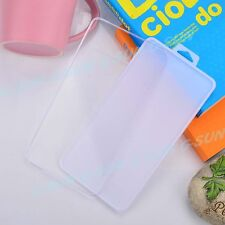 Slim Plastic Front Back Protector Box for Tempered Glasses Cellphone Cover U
