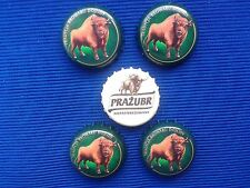 Poland Bottle Caps of beer 5 pcs. Zubr -  Kapsle z piwa 5 szt
