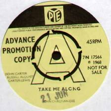 "[JOHN CARTER] JOHN CHRISTIAN-DEE ~ TAKE ME ALONG ~ 1968 UK ""PROMO"" 7"" SINGLE"