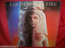 EARTH WIND & FIRE Raise!  LP ITALY 1981 EX G/F + Inner