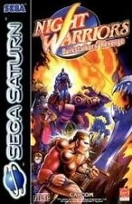 Saturn Spiel - Night Warriors Spiel - Darkstalkers Revenge (CD mit Anl.)