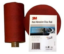 MMM01603 3M™ Red Abrasive Stikit™ Disc, 5 inch, 320 grit, 100 discs per roll