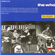 CD - The Who - The Singles - #A1700