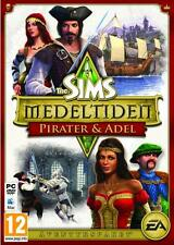 PC/ MAC GAME *** THE SIMS MEDIEVAL PIRATES & NOBLES * Pirater Adel * NEW SEALED