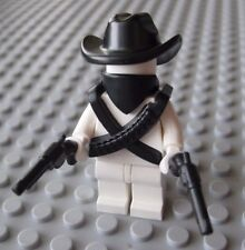 Custom BANDIT GUNSLINGER Accessory Pack for LEGO Minifigures Western Cowboy