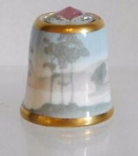 SUTHERLAND THIMBLES ~ Dreams Of Tranquility ~ Swarovski Crystal Top ~ Cased