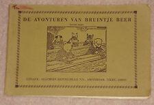1960s/70s DE AVONTUREN VAN BRUINTJE BEER DUTCH RUPERT BEAR PAPERBACK VIJFDE 5