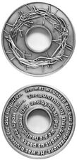 CROWN OF THORNS Isaiah 53:5 Challenge Coin Token Christian Jesus Prophecy