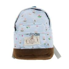 1:6 Blue Floral Flower Printed Backpack Rucksack Dollhouse Home Accessory