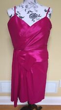 Calvin Klein Fuschia Ladies Formal Fashion Dress Size 14