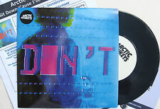 """ARCTIC MONKEYS 7"""" Don't Sit Down 'Cause I've Moved Your Chair / I.D.S.T. + PROMO"""