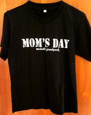 MOM'S DAY youth med German punk rock concert T shirt 2006 Adverts bus Albstadt