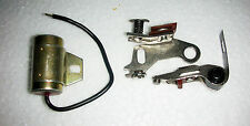 IGNITION CONTACT BREAKER AND CAPACITOR / CONDENSER SET JAWA CZ SINGLE CYLINDER