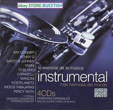 Lo Esencial Instrumental Ray Conniff,Santo& Johnny,Di Blasio,Perdy Faith,Yanni