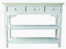 Regal weiss Standregal weiss antik Landhaus Sideboard Massivholz