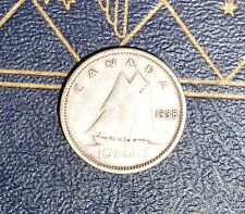 Canada 1938 10 CENT - Low Mintage Dime - Nice Coin Book filler