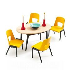 Djeco Modern Doll House Furniture Set- The Dinning Room