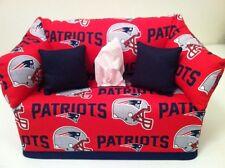 NFL New England Patriots Sofa Tissue Box Cover Handmade