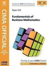 CIMA Official Exam Practice Kit Fundamentals of Business Maths (CIMA Official Ex