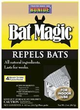 Bat Magic Repellent Drives bats out attics, wall, chimneys 4Pk Bat Repellent