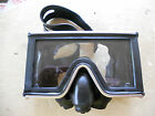 Vintage AMF Voit Swimaster FULL VIEW Mask Diving Goggles Scuba Diving Italy