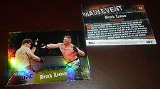 Brock Lesnar UFC 2010 Topps Main Event Gold Card #66 100 116 121 141 91 87 81 10