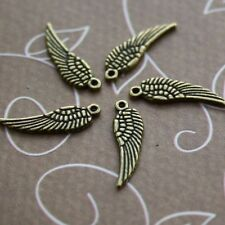 Mini Angel Wings Charms Pack of 30