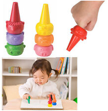 Crayon for Baby Toddler 6 Color Colour Basic Safety Tough washable