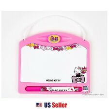 Sanrio Hello Kitty Mini Dry Eraser White Board with Pen Eraser Set : Pink