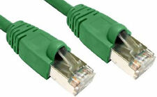 50cm RJ45 Ethernet Cable Cat 6 Gigabit Shielded Snagless FTP Network LEAD GREEN