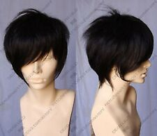 A-2 Cosplay Wigs New Short black Fashion Wig