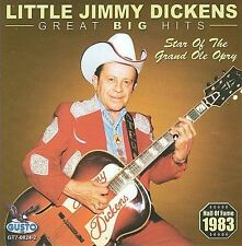Great Big Hits-Dickens, Little Jimmy (CD) NEW SEALED