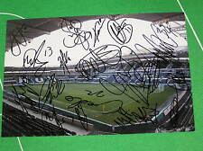 Hull City 2012/13 Promotion Squad Signed x 19 KC Stadium Press Photograph