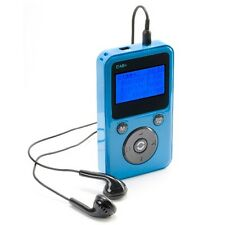 PORTABLE POCKET PERSONAL HANDHELD DAB DIGITAL DAB+ FM RADIO - BLUE