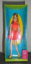Vintage DAWN Topper Toys GLORI w/RED HAIR & YELLOW SHOES 1970 Doll NEW/NRFB RARE