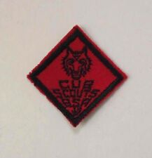 "Vintage CUB SCOUTS Boy Scouts of America BSA Patch/Badge RARE 1 1/2"" Sew-On"