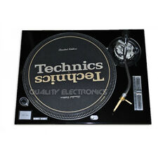 Technics Face Plate for Technics SL1200MK2/SL1210MK2 Turntable- Black, Faceplat