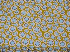 Amy Butler Daisy Chain Kalidoscope Dots Olive Fabric